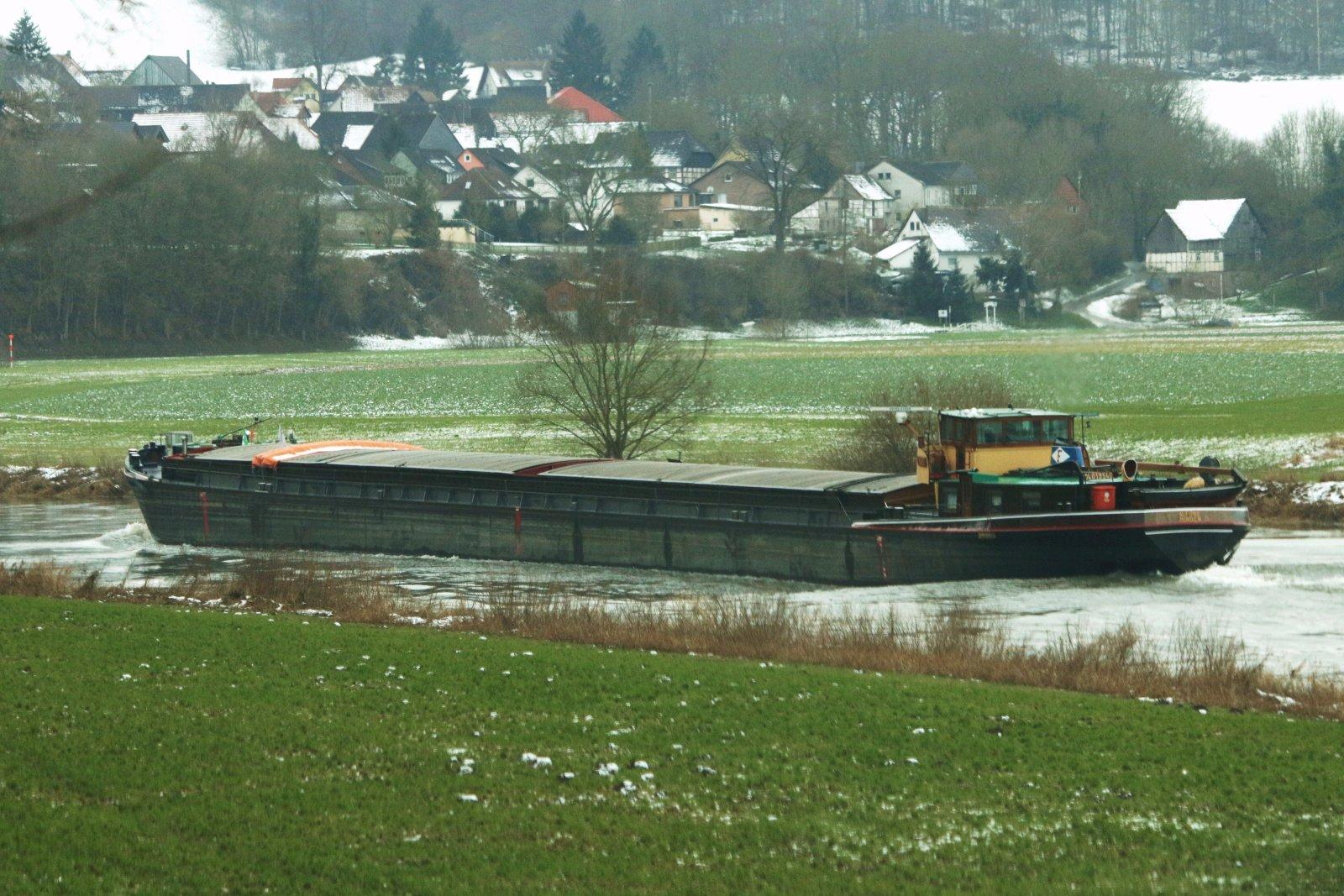 MS-Alfons auf der Oberweser (2)